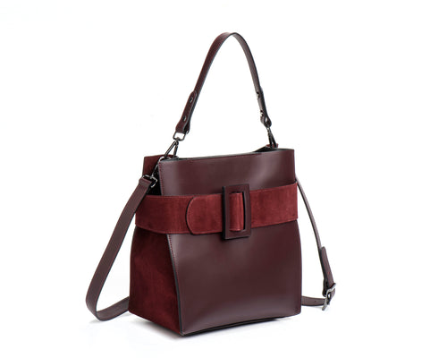 Large Belt leather bag