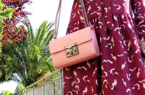 GAIA BAG LIGHT PINK