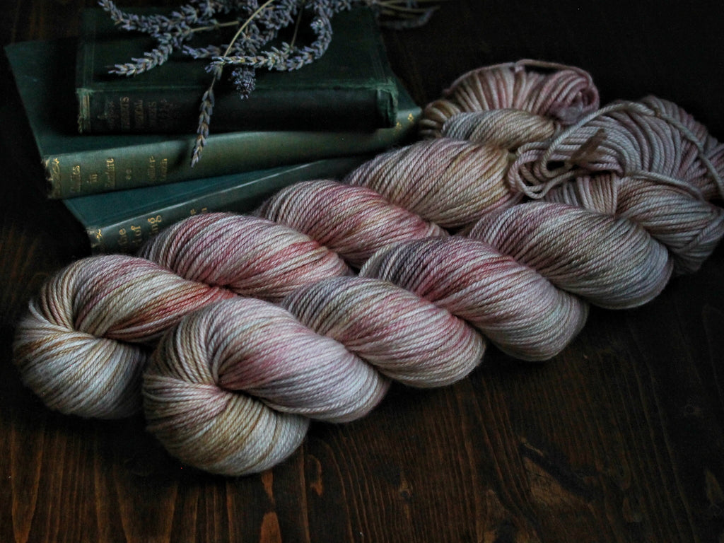 Fuzz - Raindrops On Roses & Whiskers On Kittens - Mohair Blend Fingering Weight