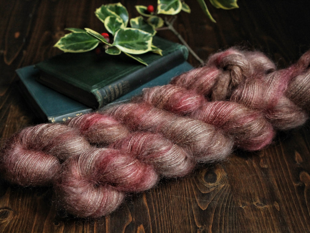 High Feather - Love Struck Baby - Lace Weight Mohair Silk