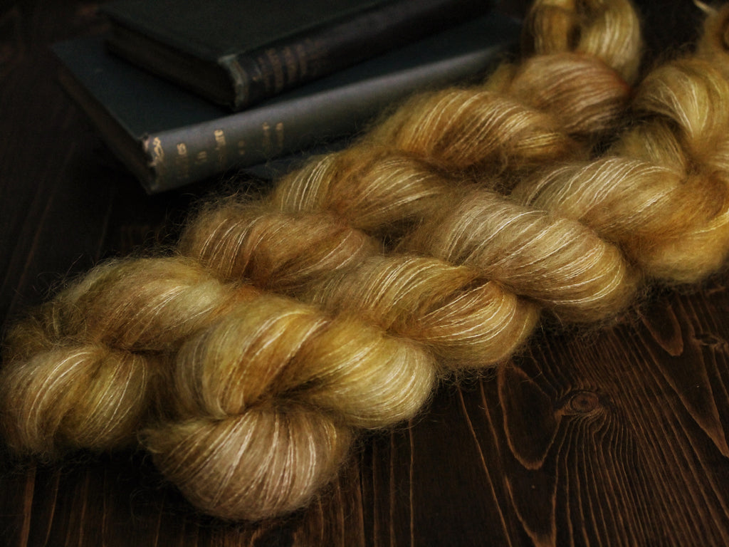 High Feather - I Have Confidence - Lace Weight Mohair Silk