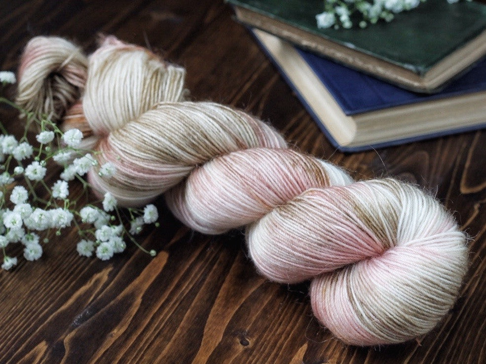 Fuzz - Love Letter - Mohair blend fingering weight