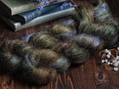 High Feather - Wychwood - Lace Weight Mohair Silk