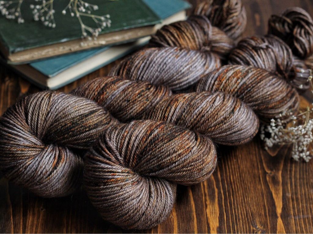 Bracken - Mushroom Patch - Bluefaced Leicester / Nylon Fingering Weight