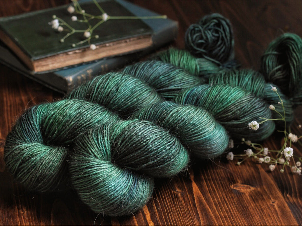 Bracken - Storr - Bluefaced Leicester / Nylon Fingering Weight