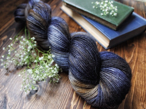Fuzz - Dedlock - Mohair Blend Fingering Weight