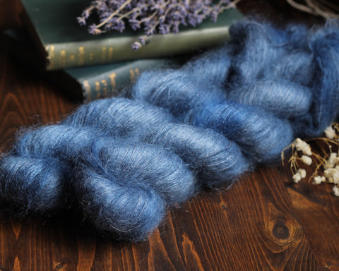 High Feather - Land Girls - Lace Weight Mohair Silk