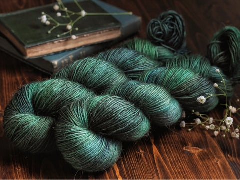 Fuzz - Storr - Mohair Blend Fingering Weight