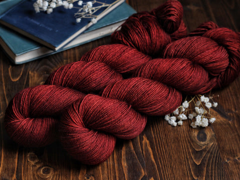 Fife - Garnet Harvest - 100% SW Merino Fingering Weight