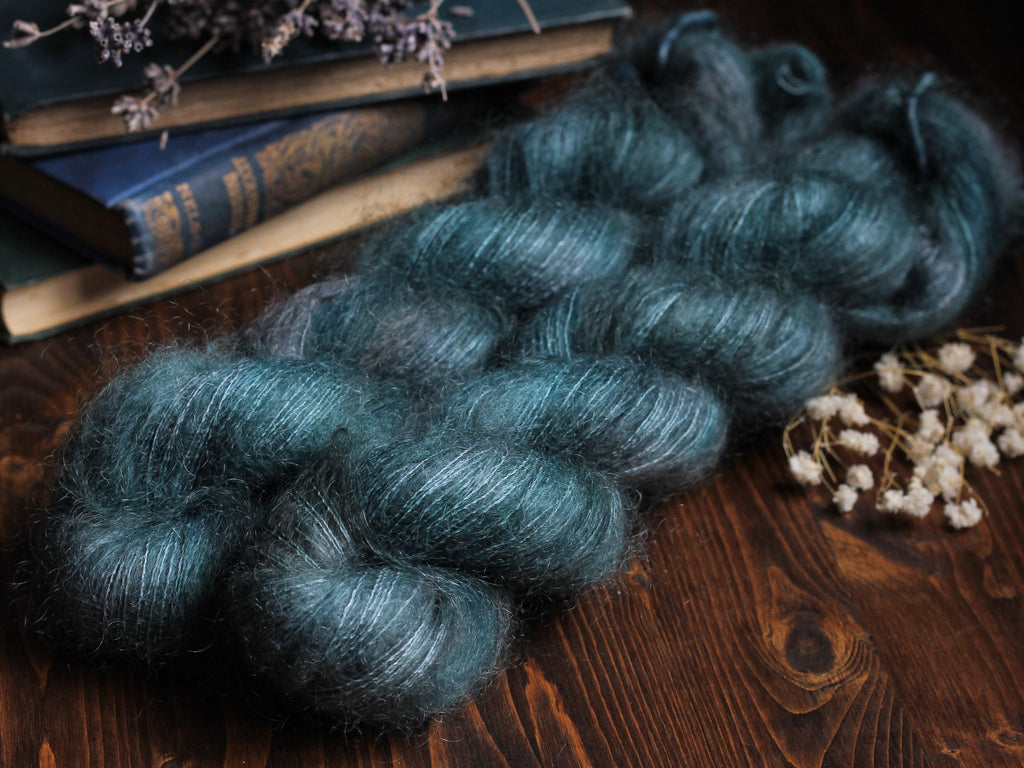 High Feather - Callais - Lace Weight Mohair Silk