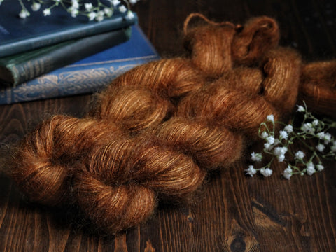 High Feather - Lucille - Lace Weight Mohair Silk