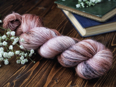 Fuzz - Bramble - Mohair blend fingering weight