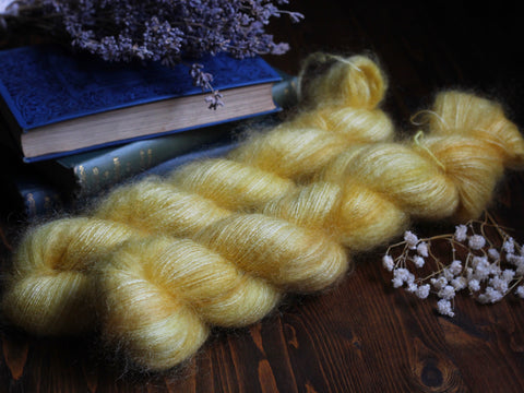 High Feather - Montana Rose - Lace Weight Mohair Silk