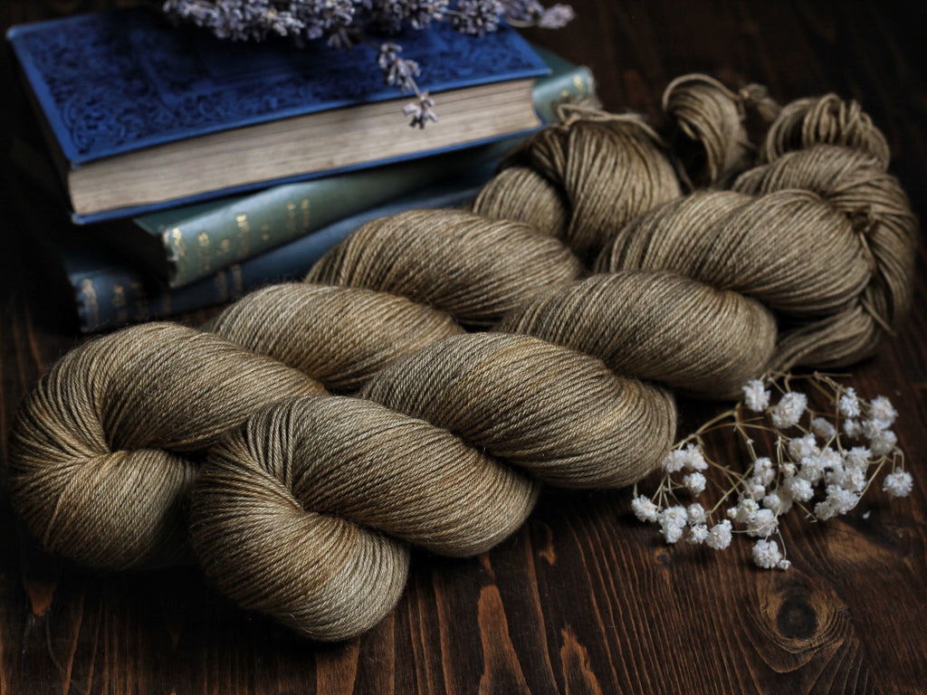 Bracken - Brown Biscuit - Bluefaced Leicester Blend Fingering Weight