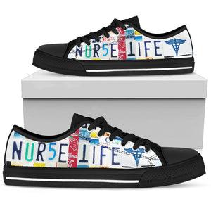 Nurse Life Low Top Shoes - Men