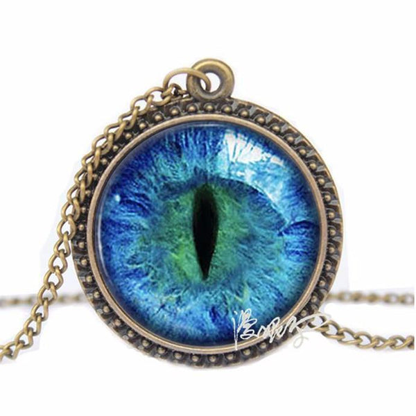 Cool Cat Eye Necklace