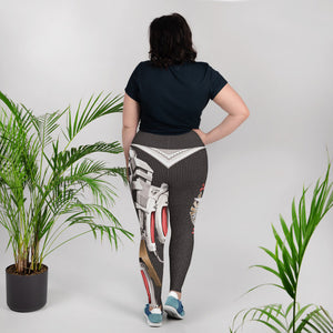 Nurse Super-Power Leggings Plus Size