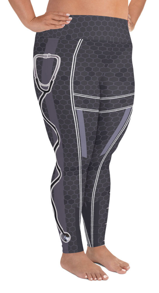 Nurse Chick Plus Size Leggings