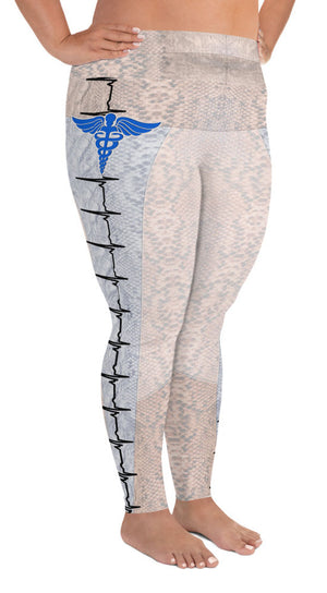 Nurse Love Plus Size Leggings