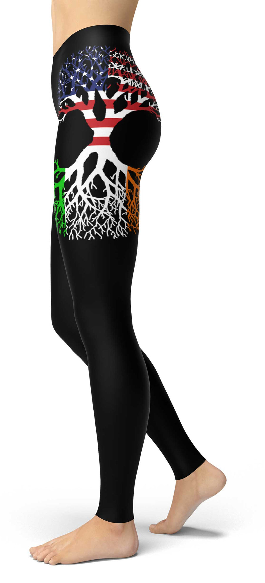 American Grown Irish Roots Leggings right
