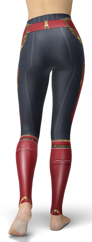 Avengers: Endgame Captain Marvel Leggings