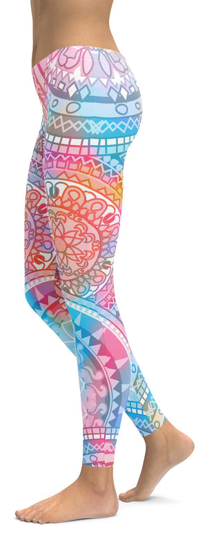 Colorful Chakra Leggings