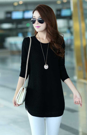 Elegant Dress Sweater - FRONT