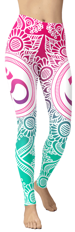 Gradient OM Leggings - front