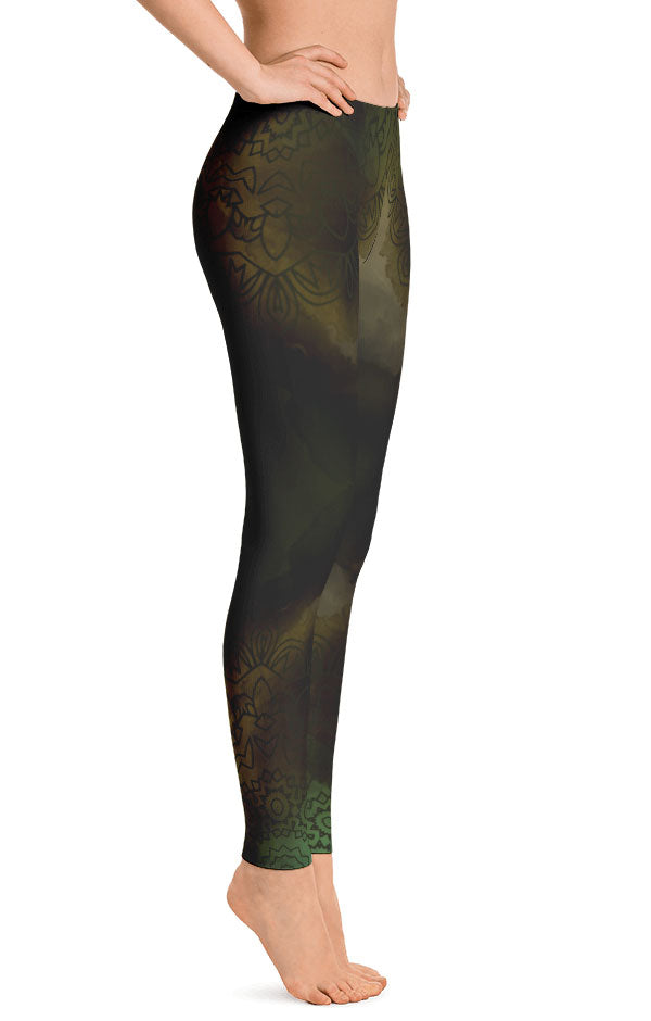 Green Essence Leggings
