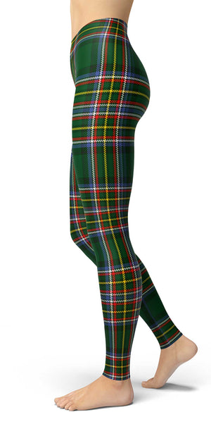 Irish American Tartan Leggings