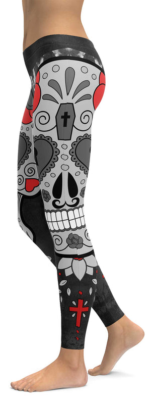 Joker Skull Leggings