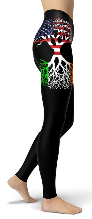 Lite Irish American Roots Leggings