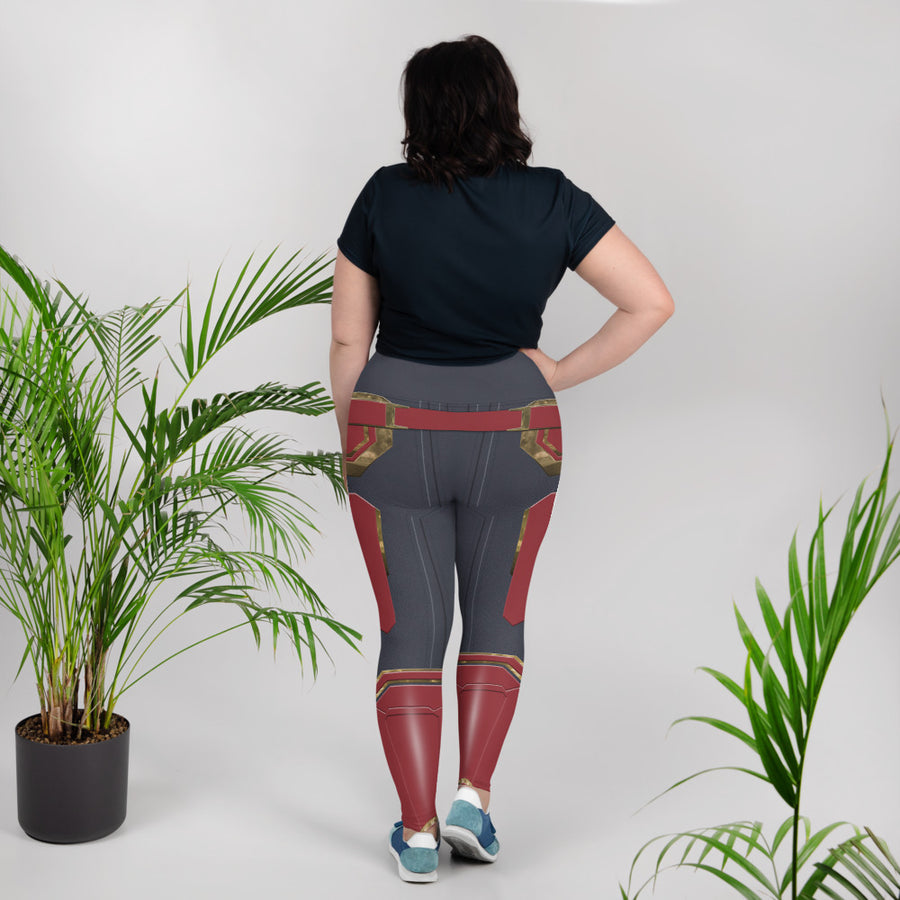 Avengers: Endgame Captain Marvel Leggings - Plus Size