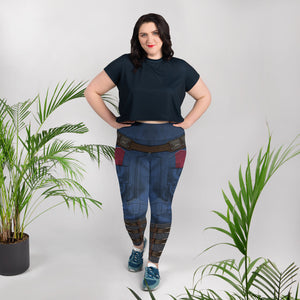 Avengers: Endgame Captain America Leggings - Plus Size