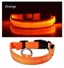 Waterproof LED dog collar