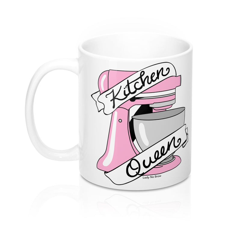 Kitchen Queen Pink - 11oz Mug