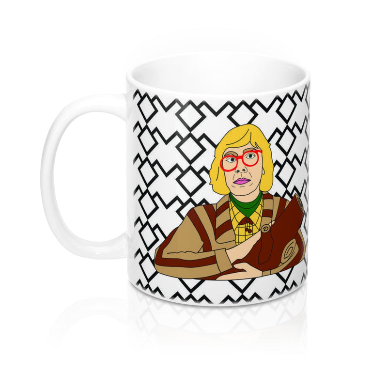 Log Lady 11 oz Mug