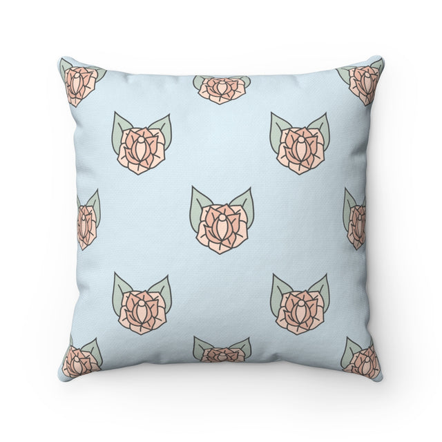 Sneaky Rose Vulva Square Pillow Case