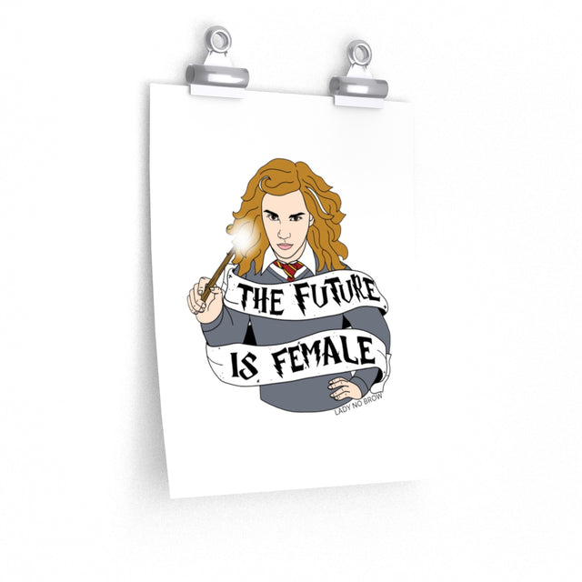 Hermione - The Future is Female Print