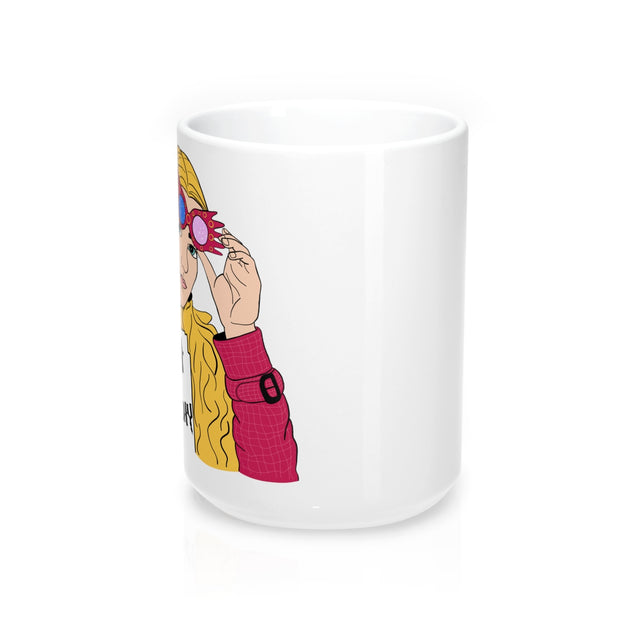 Luna Lovegood Smash the Patriarchy - 15 oz Mug