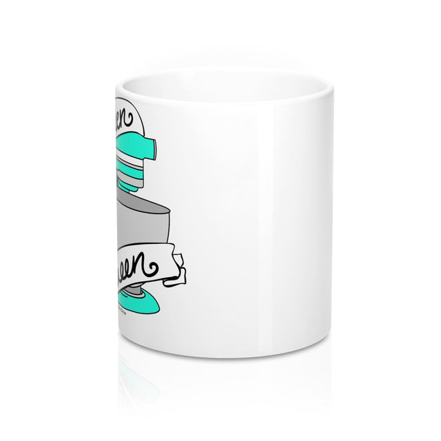 Kitchen Queen Teal - 11 oz Mug