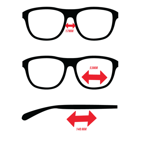 Galaxy eyewear sizing