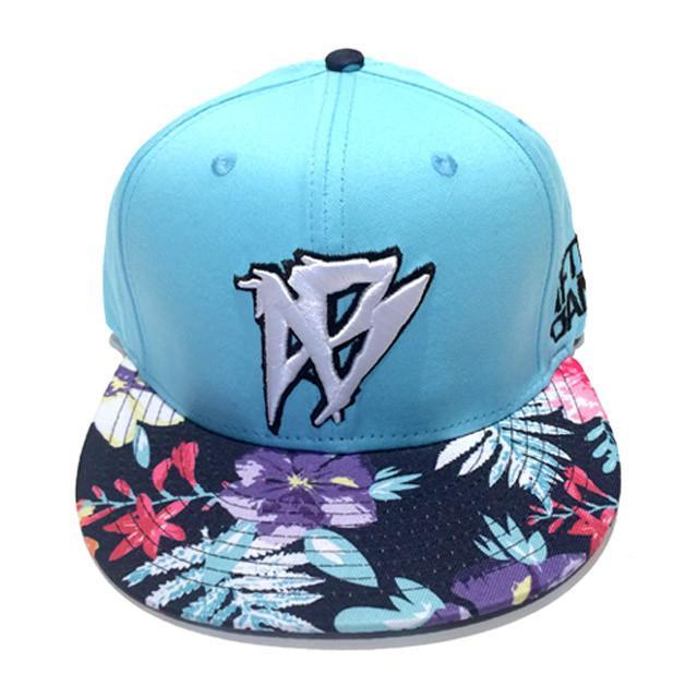 Snap-Back Floral Beach - Afterbang Eyewear Sale & Fashion Accessories Sale
