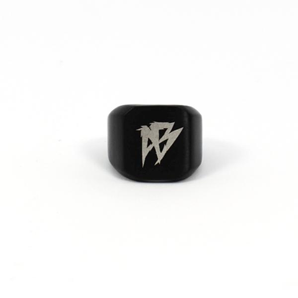 Afterbang black godfather ring