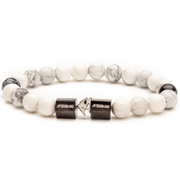 White and black Classico beads bracelet