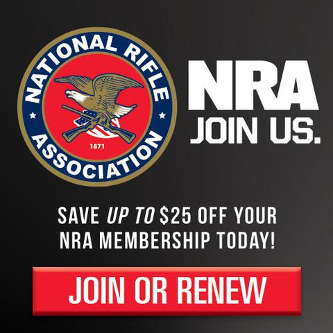 NRA Membership Sign Up via Keepzit Kooler