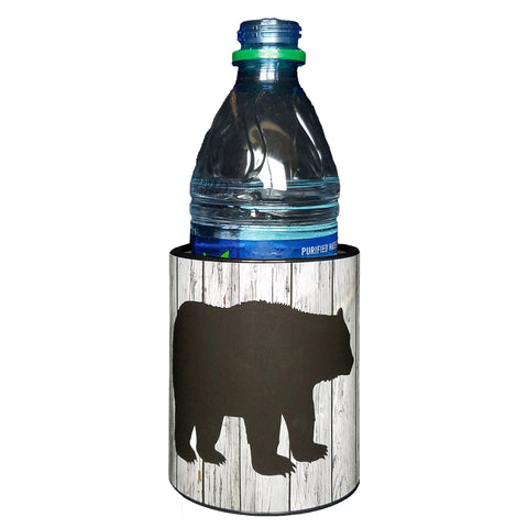 Image of Keepzit Kooler Black Bear Premium Insulated Beverage Holder