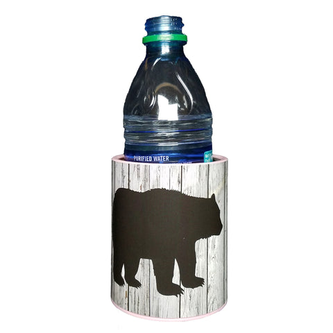 Keepzit Kooler Black Bear Premium Insulated Beverage Holder