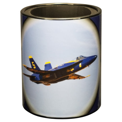 Image of Blue Angels #5 Solo with Pilot Cameo Keepzit Kooler - Front - Black