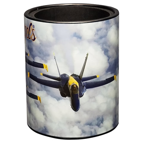 Image of Blue Angels Cloudy Skies Keepzit Kooler - Right